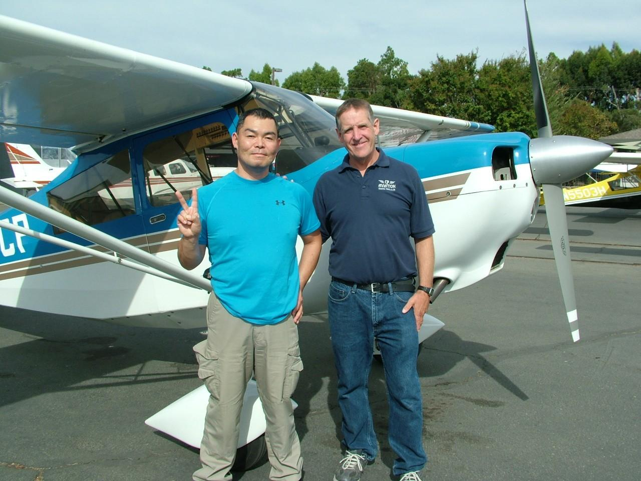 Tailwheel Endorsement - Isao Yamasita