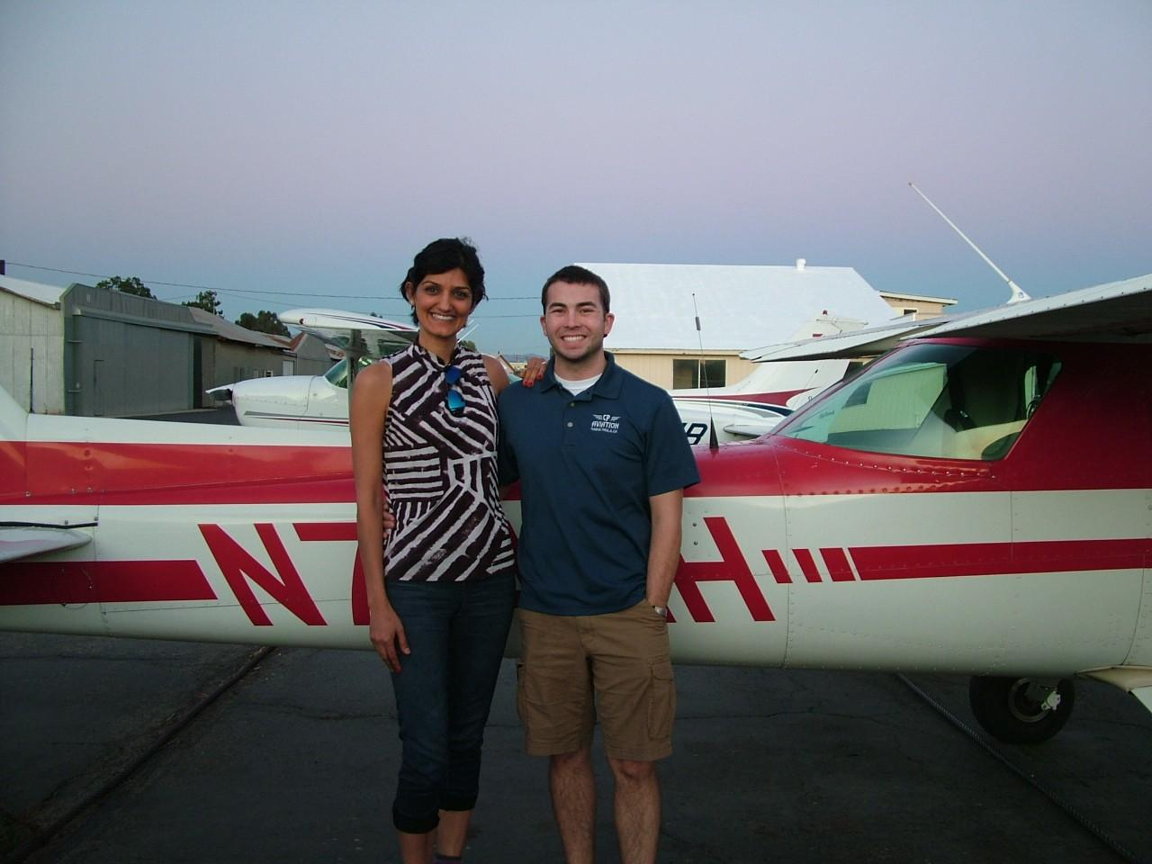 Private Pilot - Mahzad Stearns!