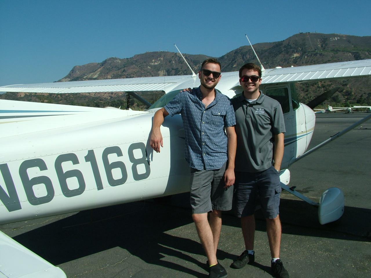 Brennan Hoenes - Commercial Pilot!