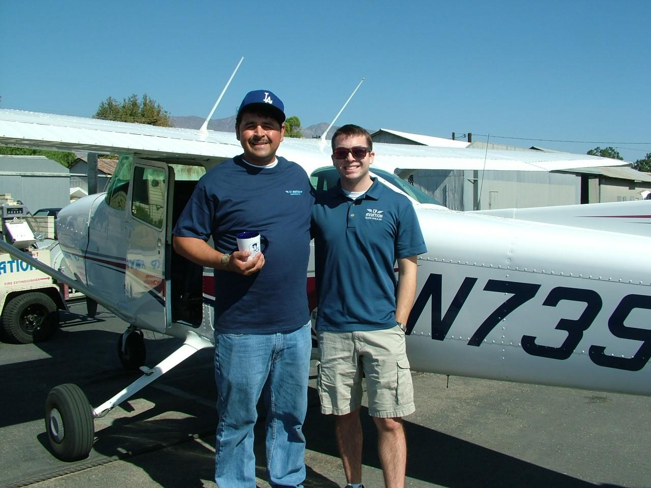Robert Grosfield, JR - First Solo!