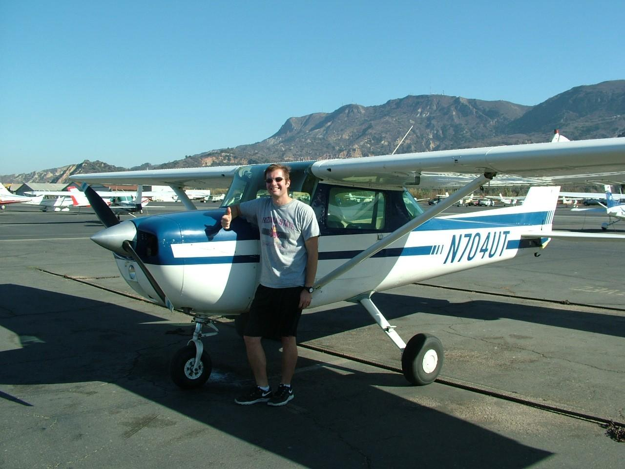 First Solo - Jason Peterson!