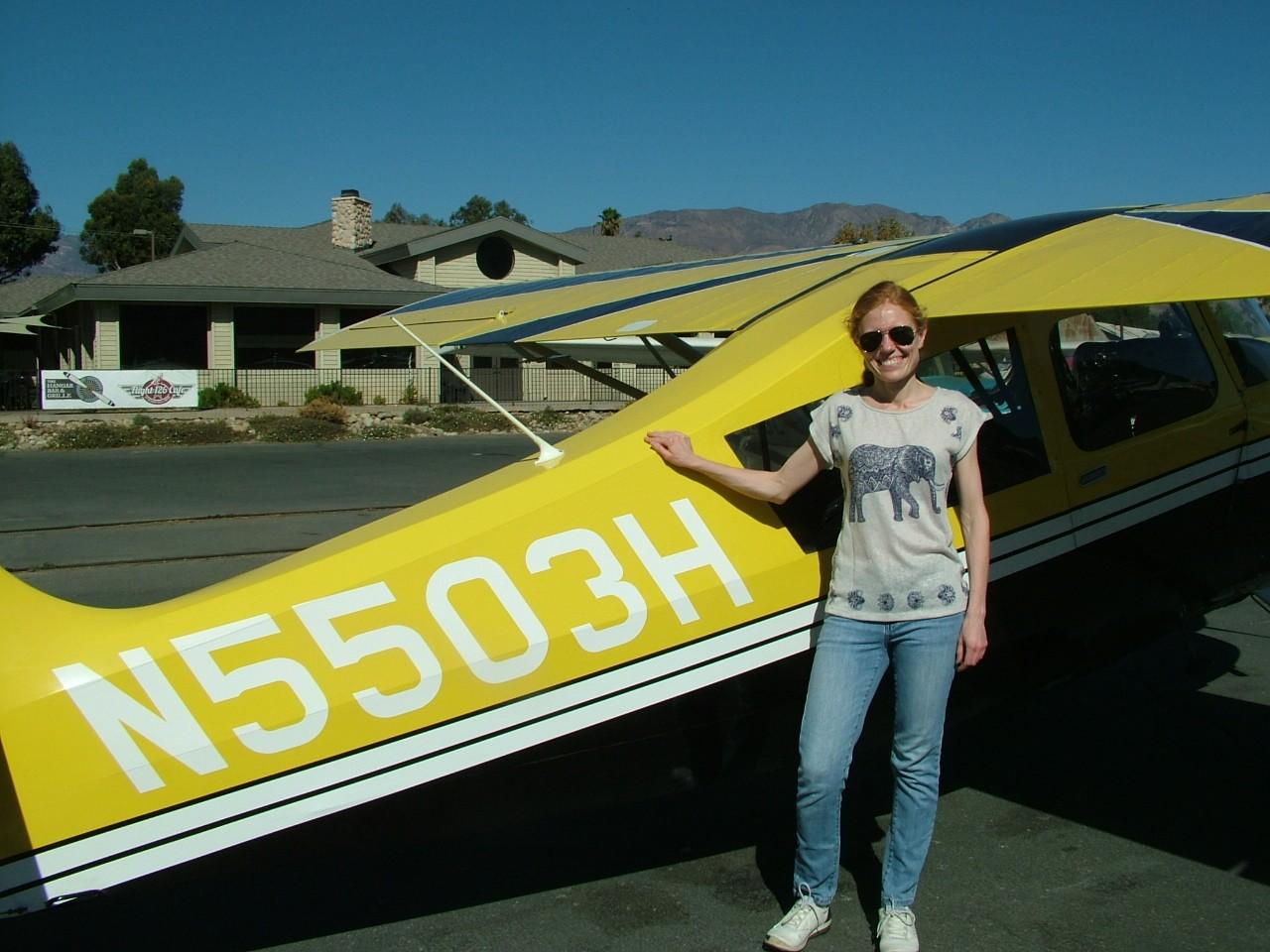 Kate Volkova - Emergency Maneuver Training &Tailwheel Endorsement