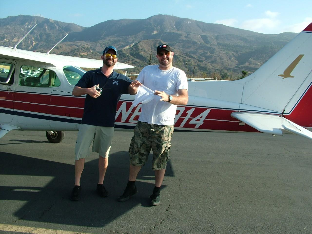 First Solo - Andrew Moseley!