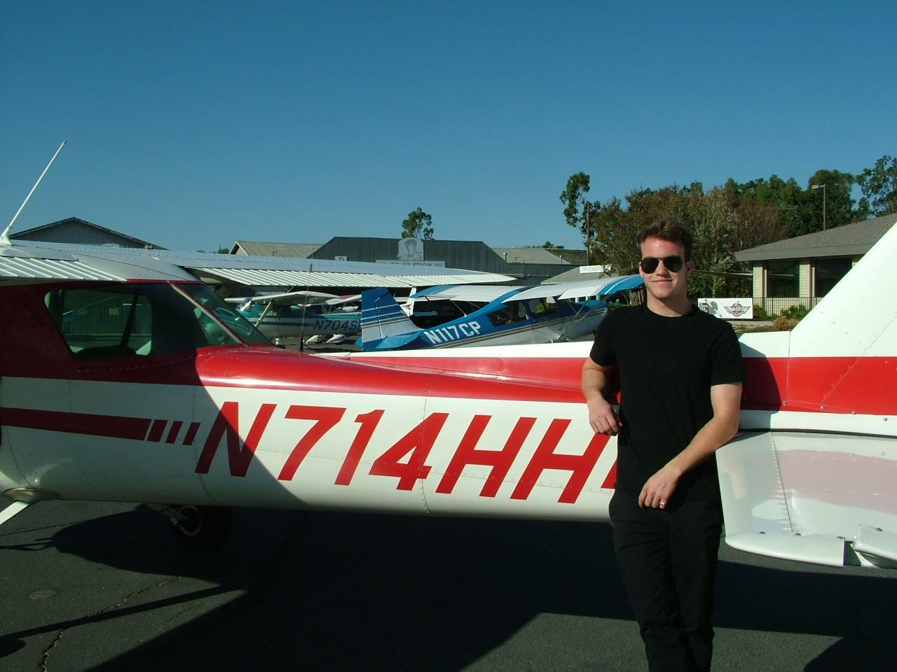 First Solo - Connor Lundy
