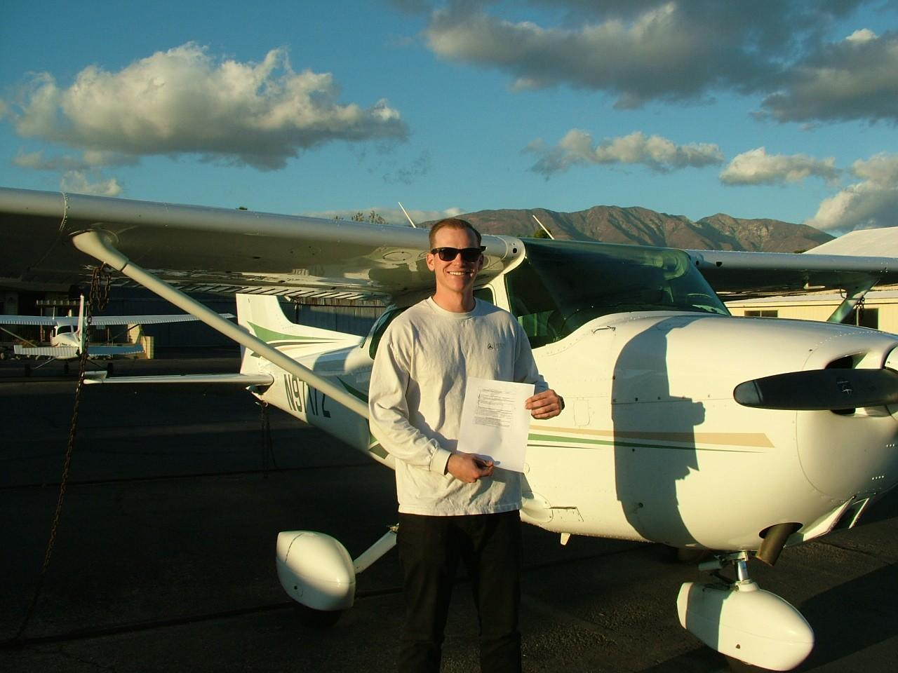 Instrument Rating - Gavin Shearer