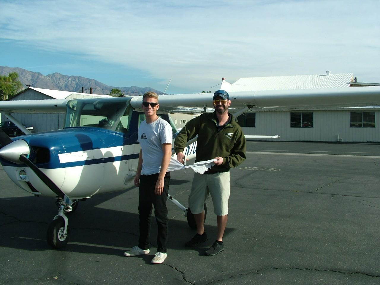First Solo - Benjamin Harvey