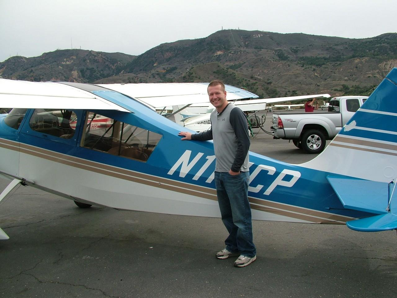 Tailwheel Endorsement - Josh Moore