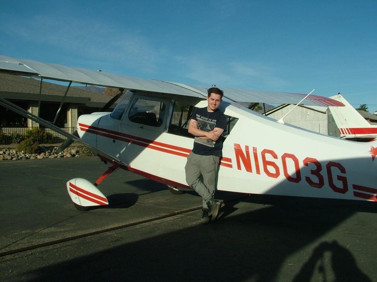 Tailwheel Endorsement - Eric Miller!