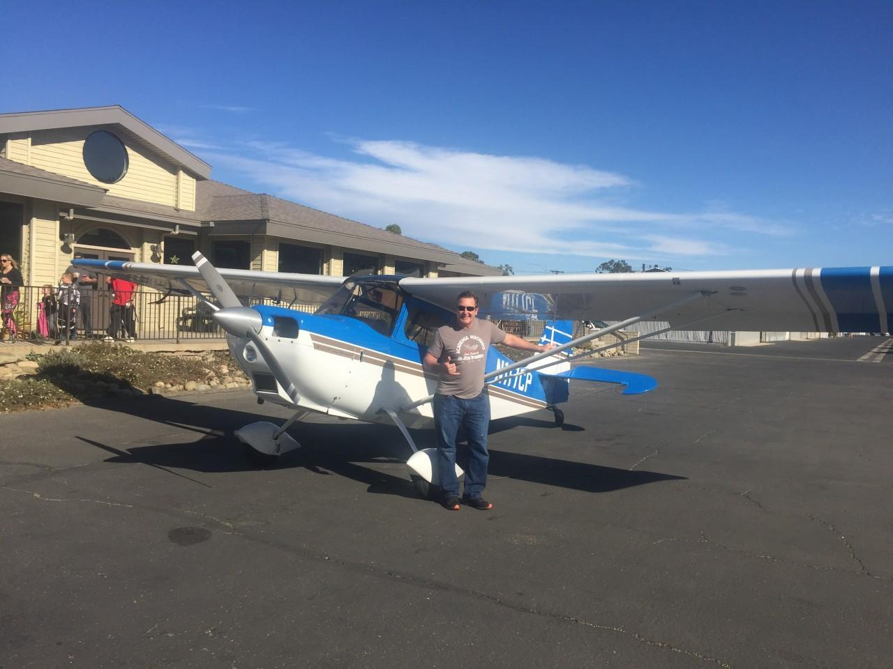 Tailwheel Endorsement - James Foster!