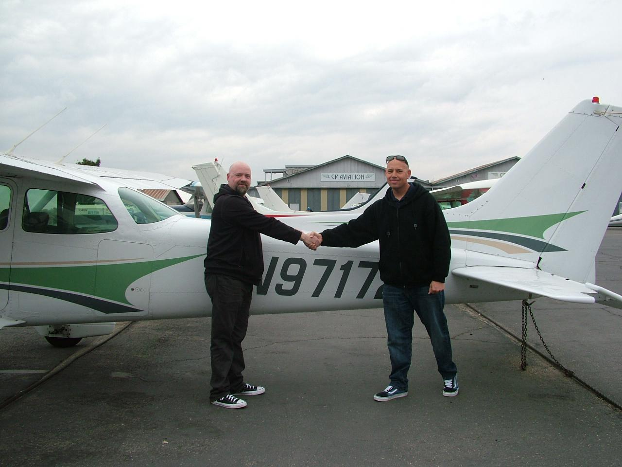 First Solo of the New Year - James Walker!