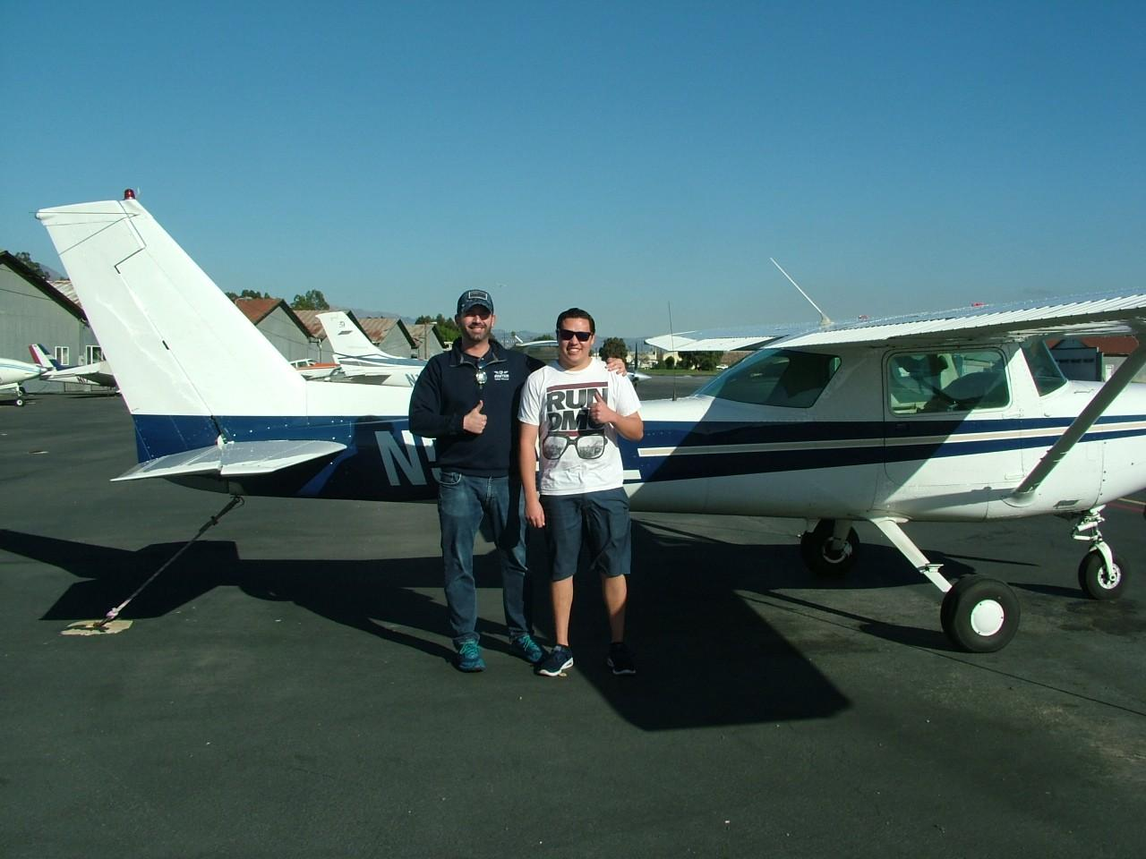 First Solo - Chandler Stuart!