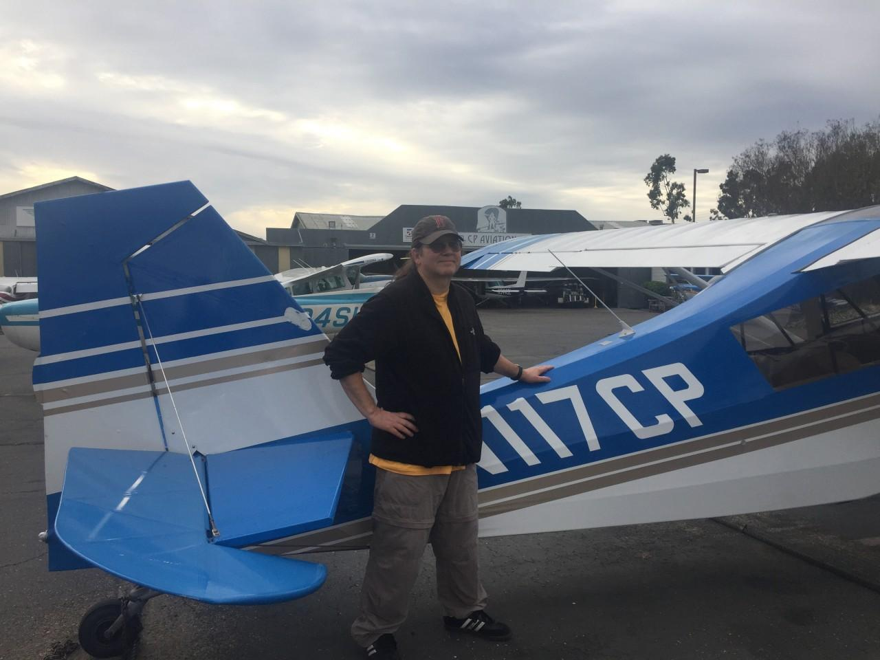 Tailwheel Endorsement - Dan Davison