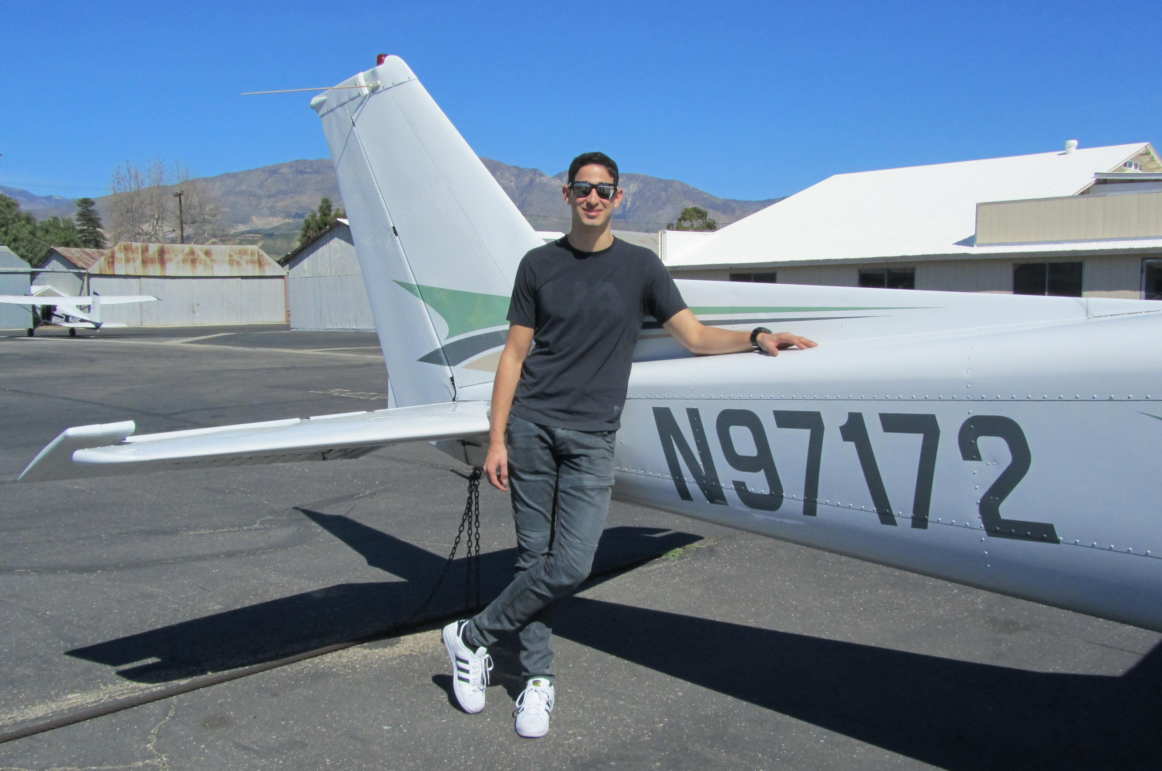 Instrument Rating & Commercial Pilot - Isaac Rimon Monsonego
