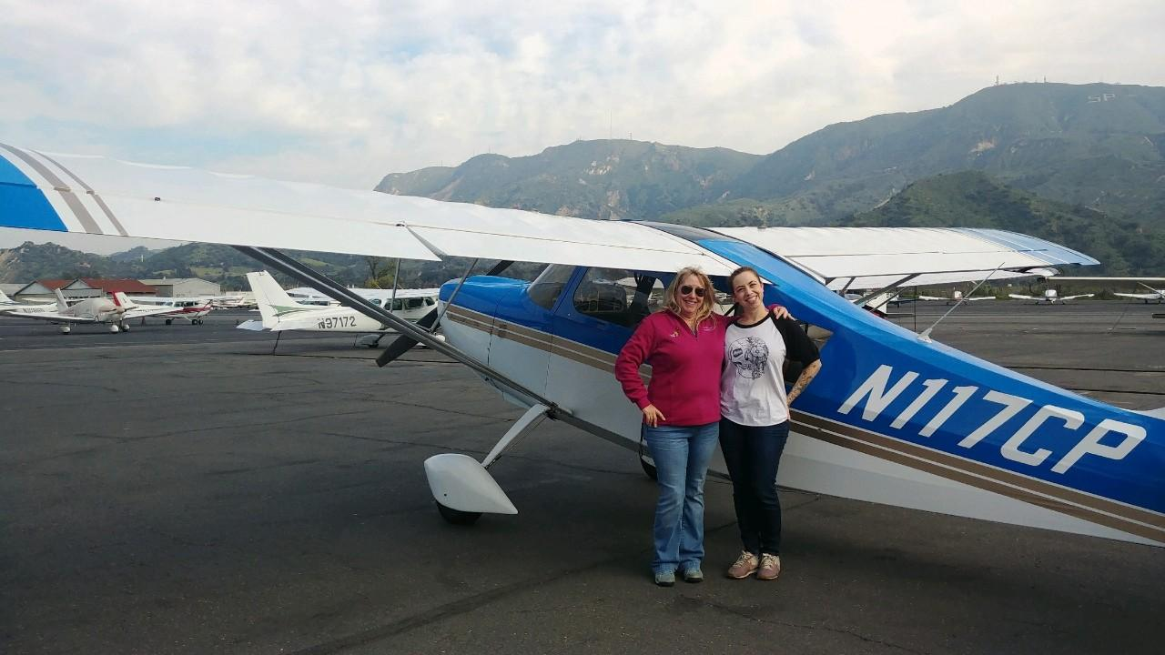 Tailwheel Endorsement - Stephanie Robinson