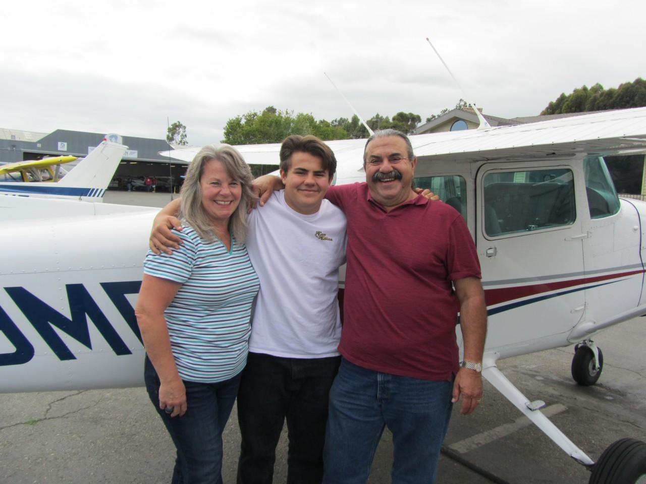 "Private Pilot, David Martoff ""Happy 17th Birthday"""