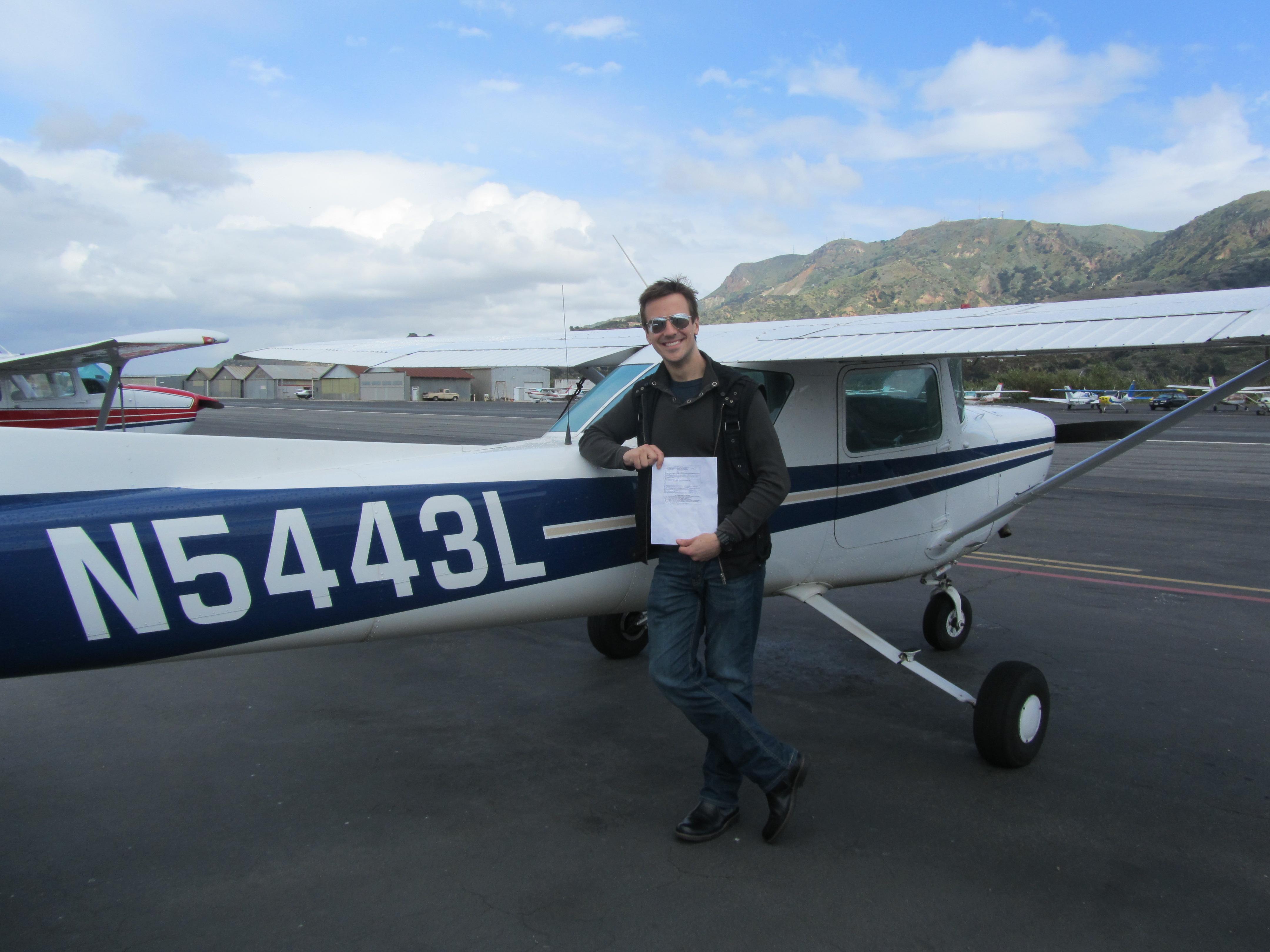 Commercial Pilot - Brandon Meadows