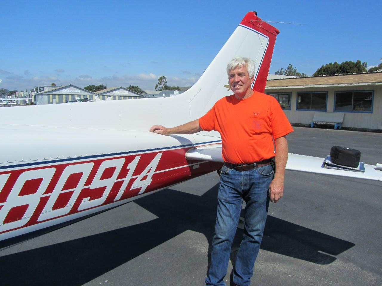 First Solo - Phil Long!