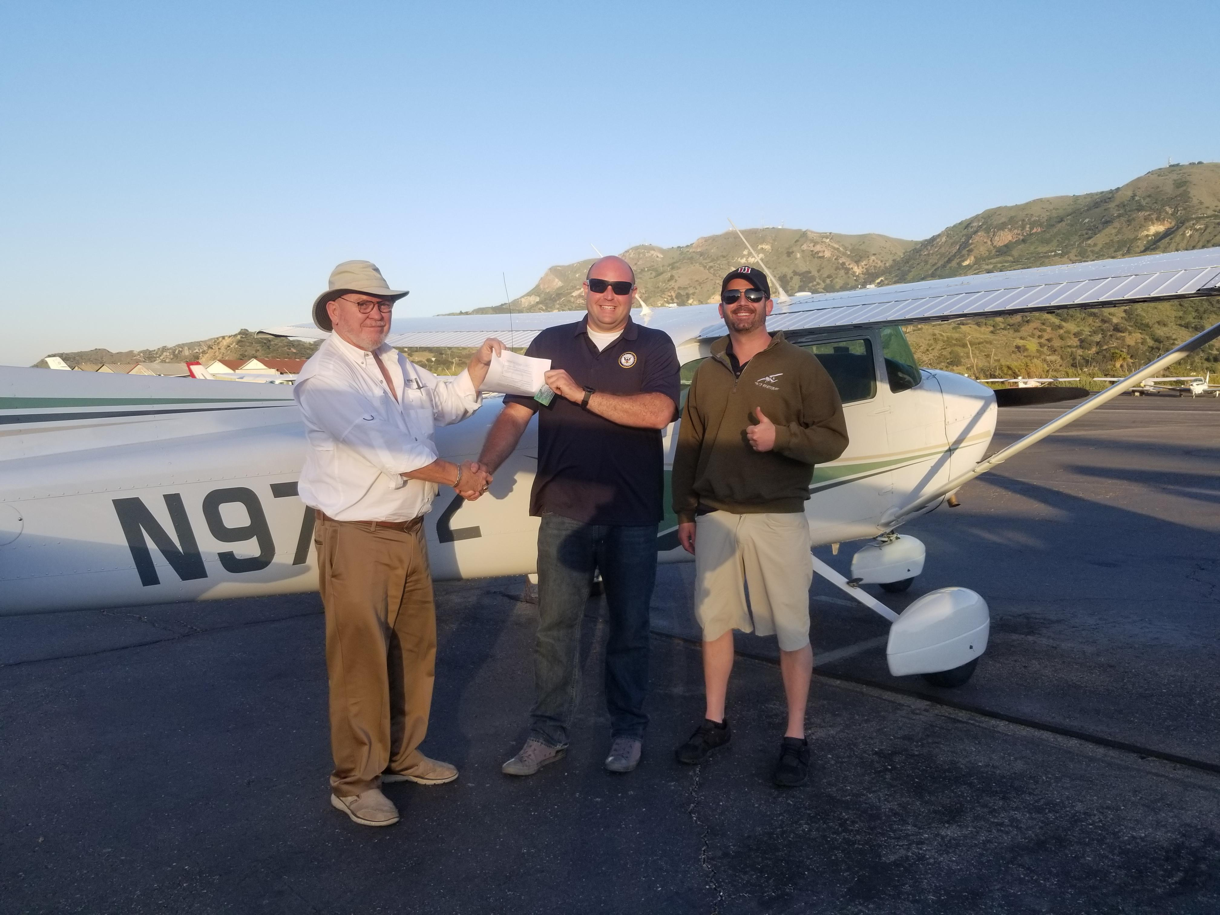 Private Pilot - Andrew Moseley!