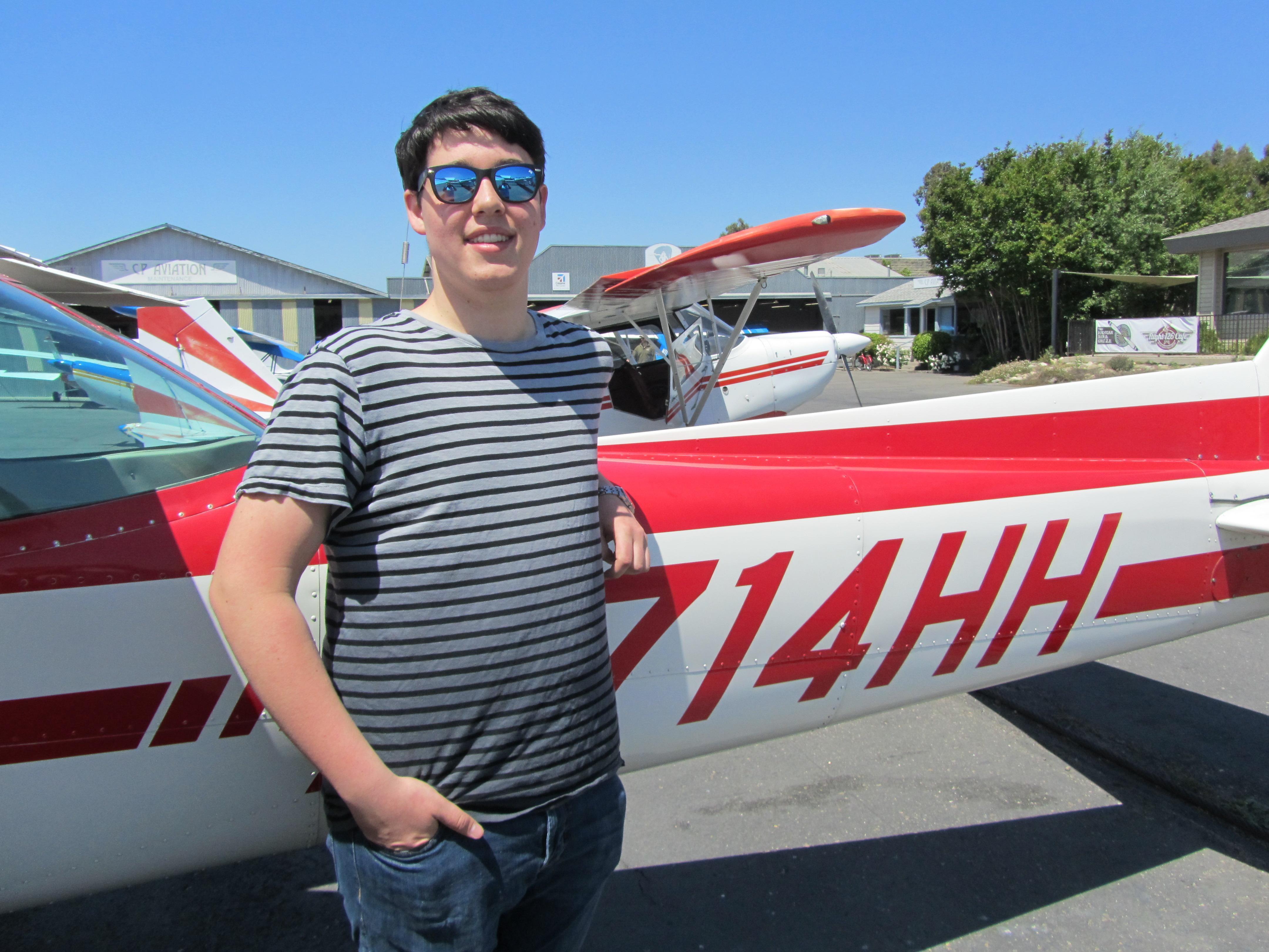 First Solo - Jasper Kuhne!