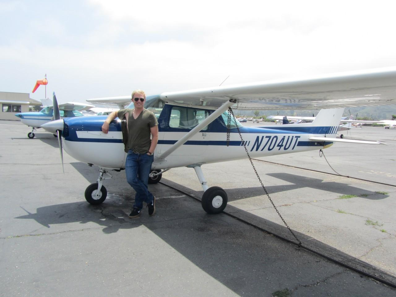 First Solo - Andy Payton