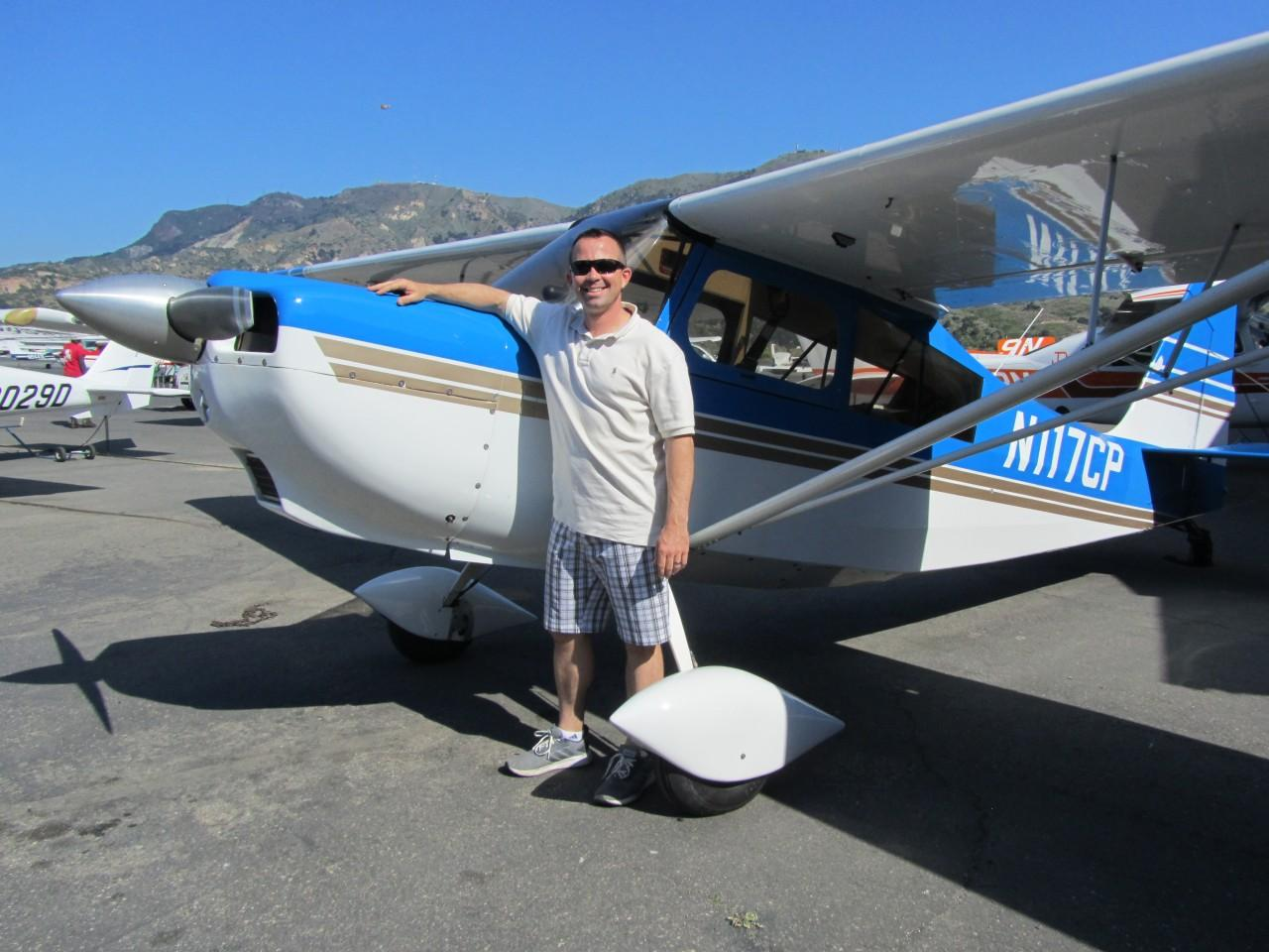 Tailwheel Endorsement - Nick Fishbough