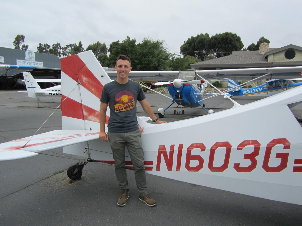 Tailwheel Endorsement - Chase Standage