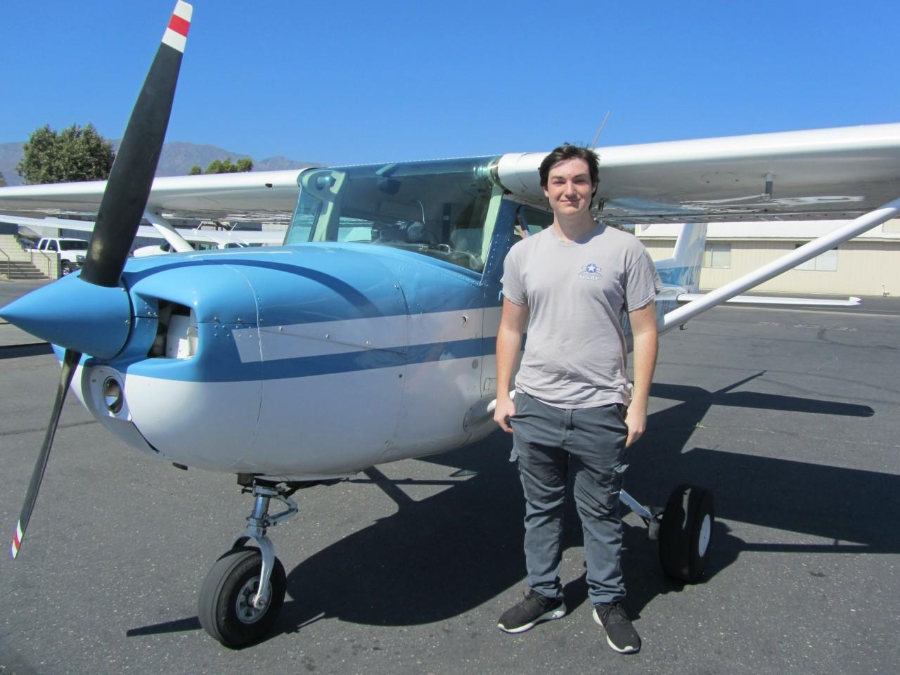First Solo - Alex Elo!