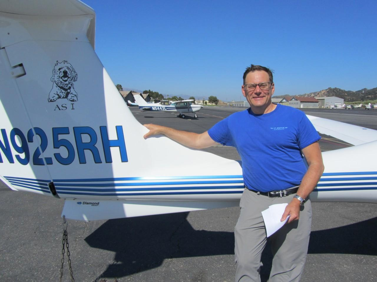 Commercial Pilot - Peter Rossi!