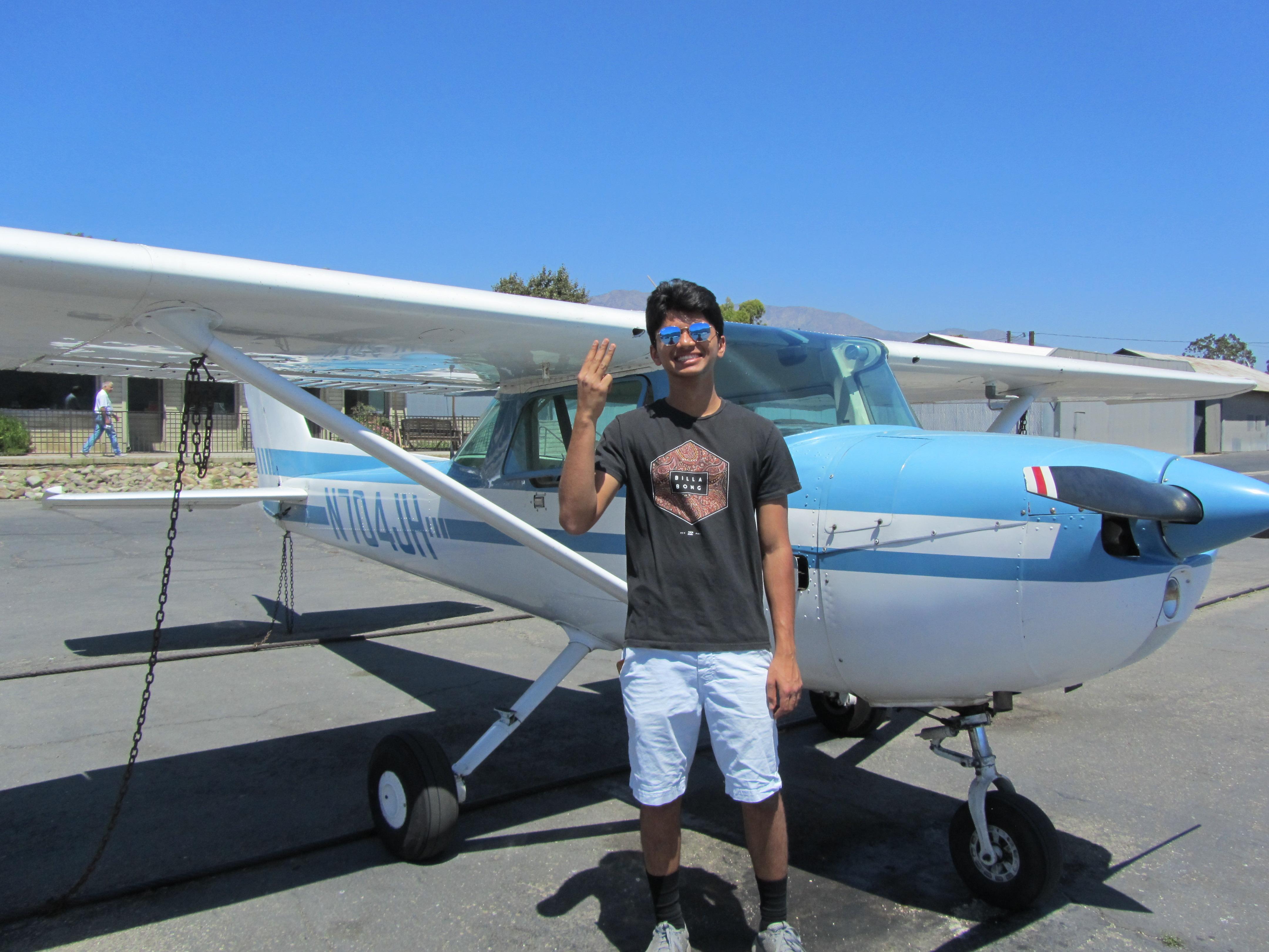 Private Pilot - Suraj Ranchod!