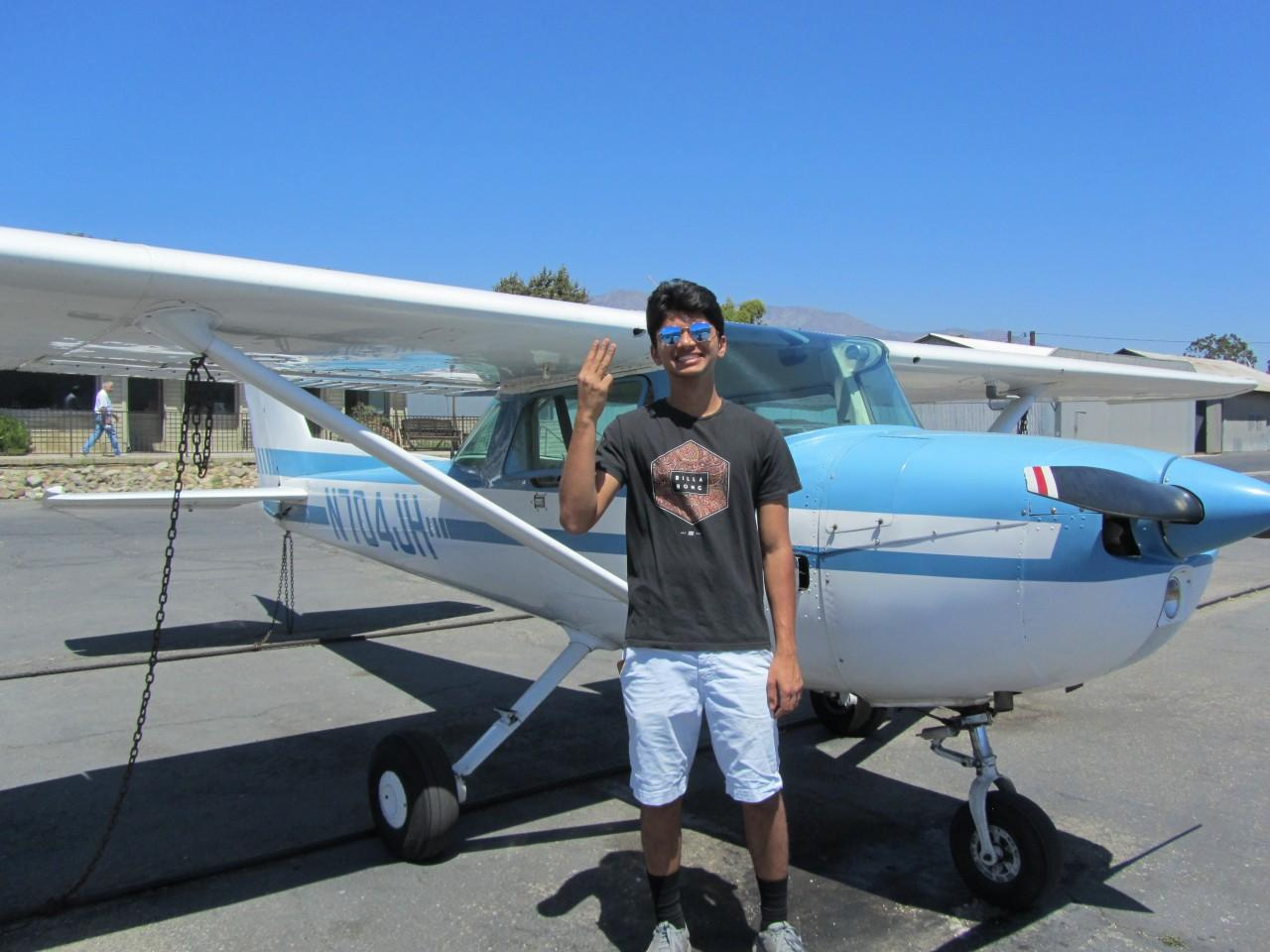 Private Pilot - Suraj Ranchod!