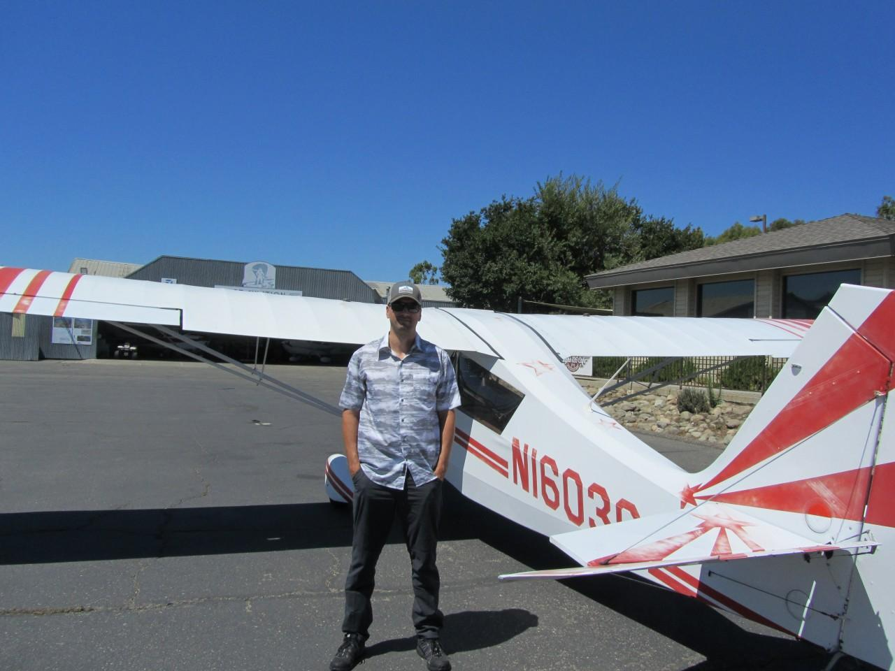 Tailwheel Endorsement - Chris Copenheaver!