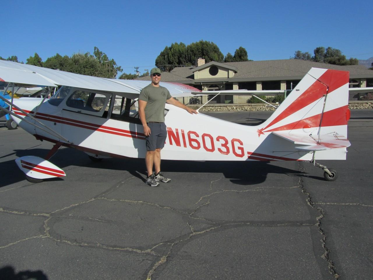 Erik Kohler - Tailwheel Endorsement