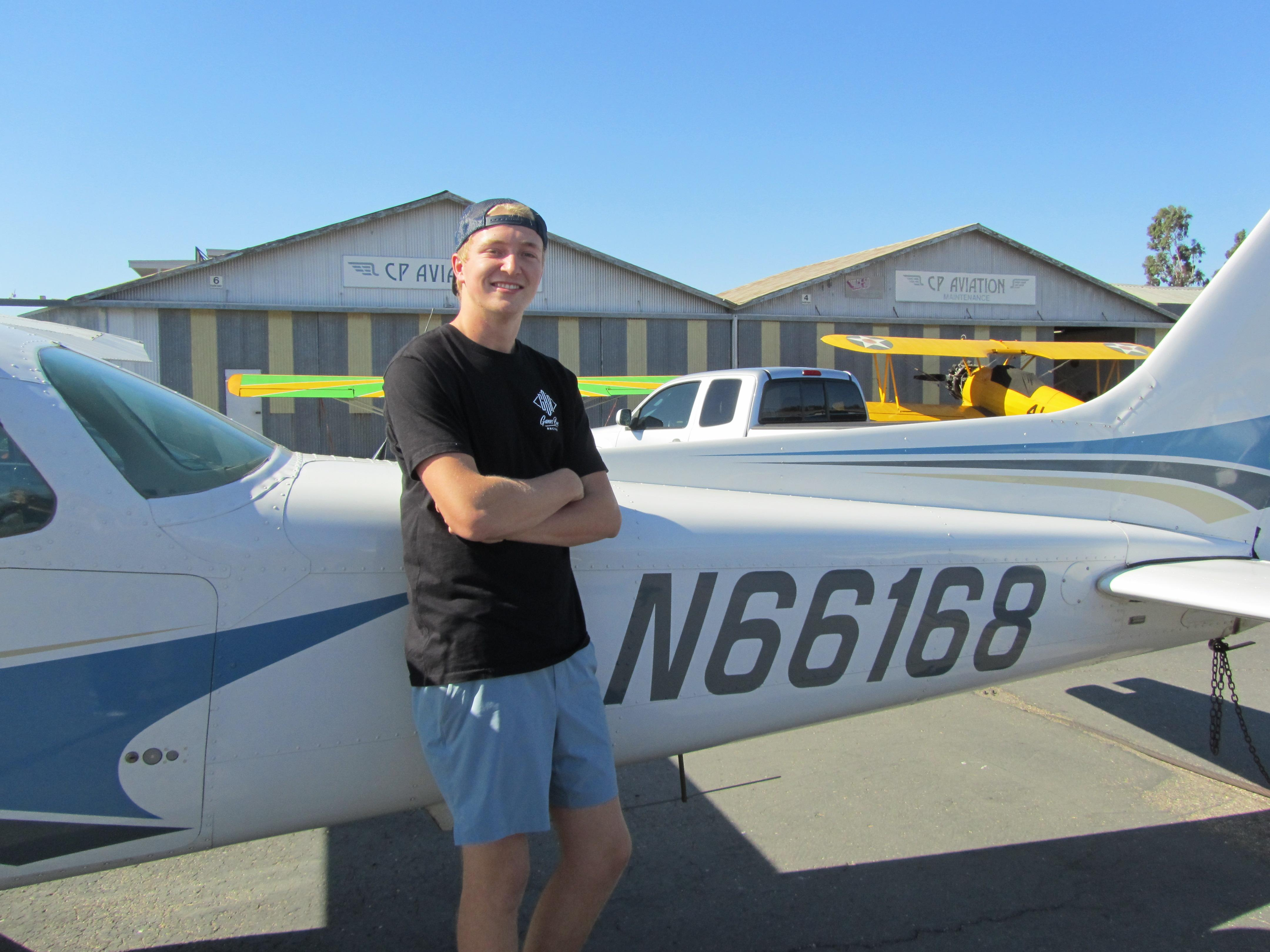 First Solo - Evan Fleming