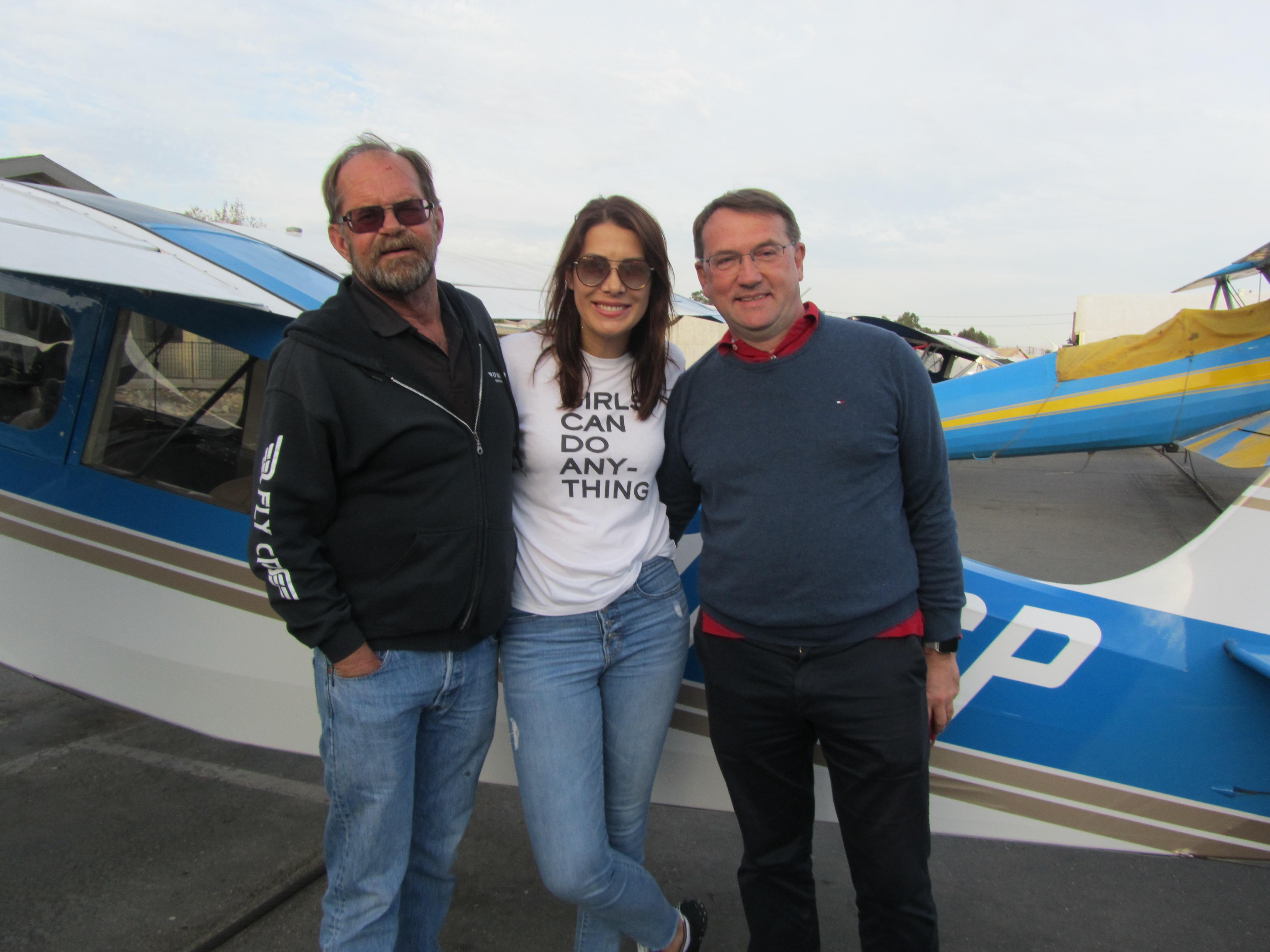 Commercial Pilot - Ines Rosa