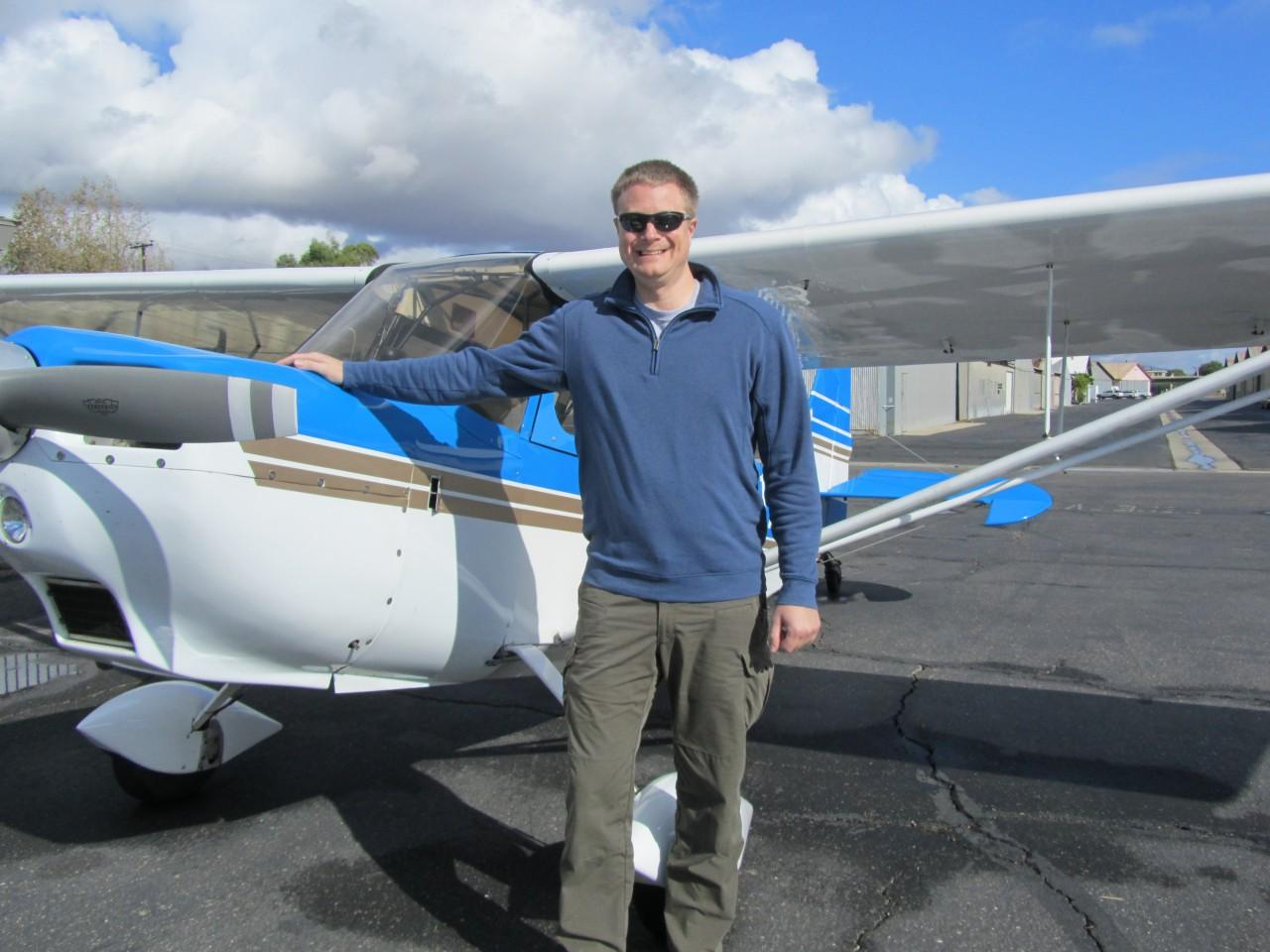 Tailwheel Endorsement - Jason Lux!
