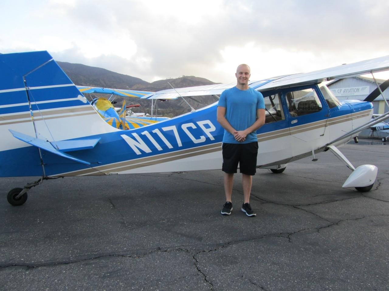 Tailwheel Endorsement - Dasan Beckman