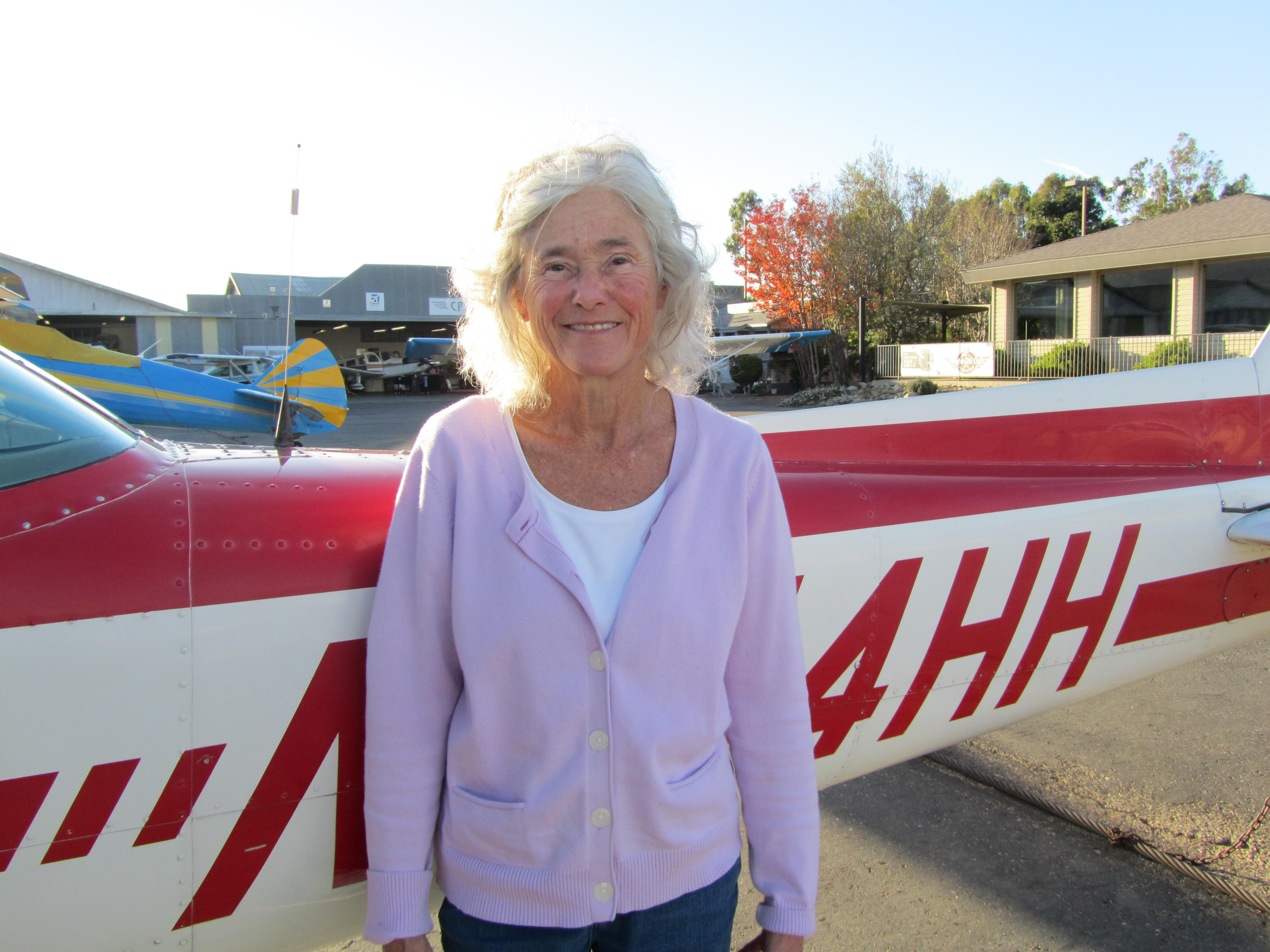 First Solo - Cindy Mulhollen!
