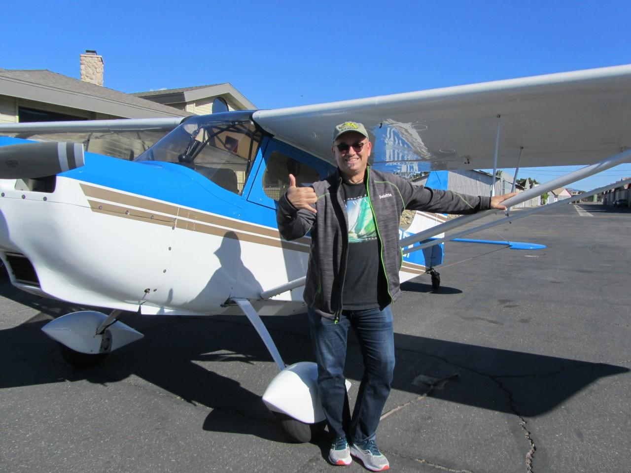 Tailwheel Endorsement - Robert Schmid!