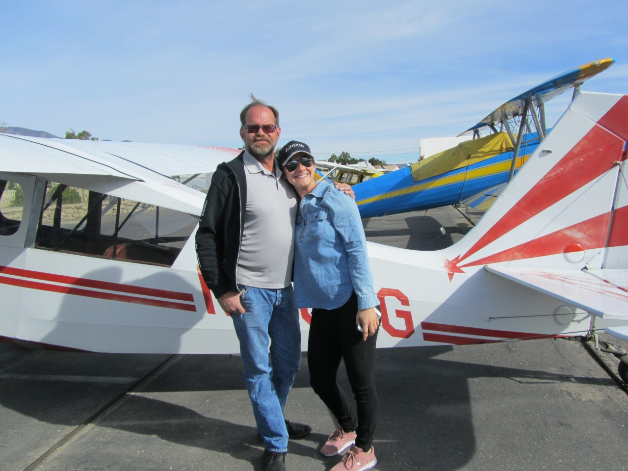 Tailwheel Endorsement - Dianne Dollar!