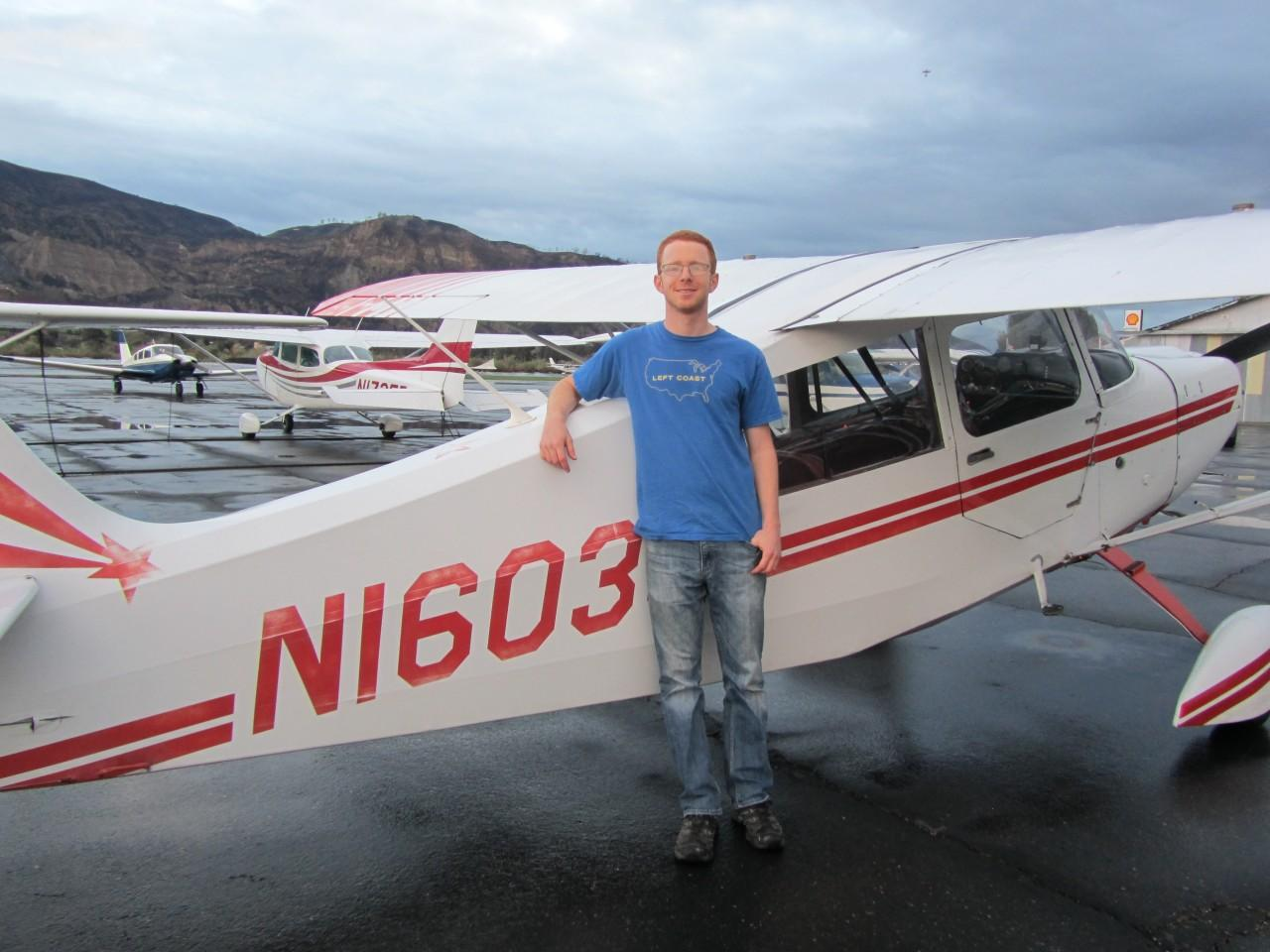 Tailwheel Endorsement - Jacob Regenstein!