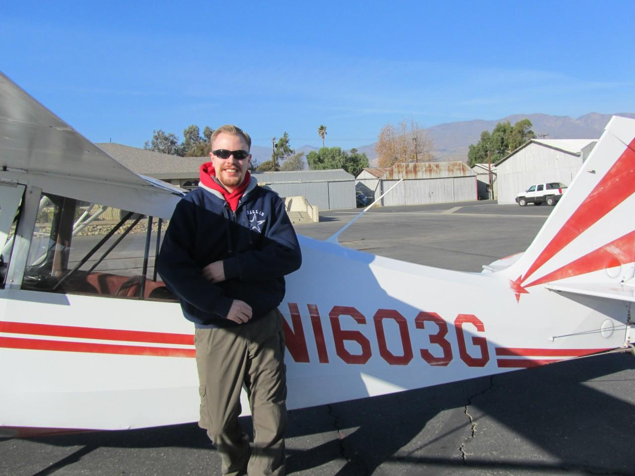 Tailwheel Endorsement - Adam Nelson