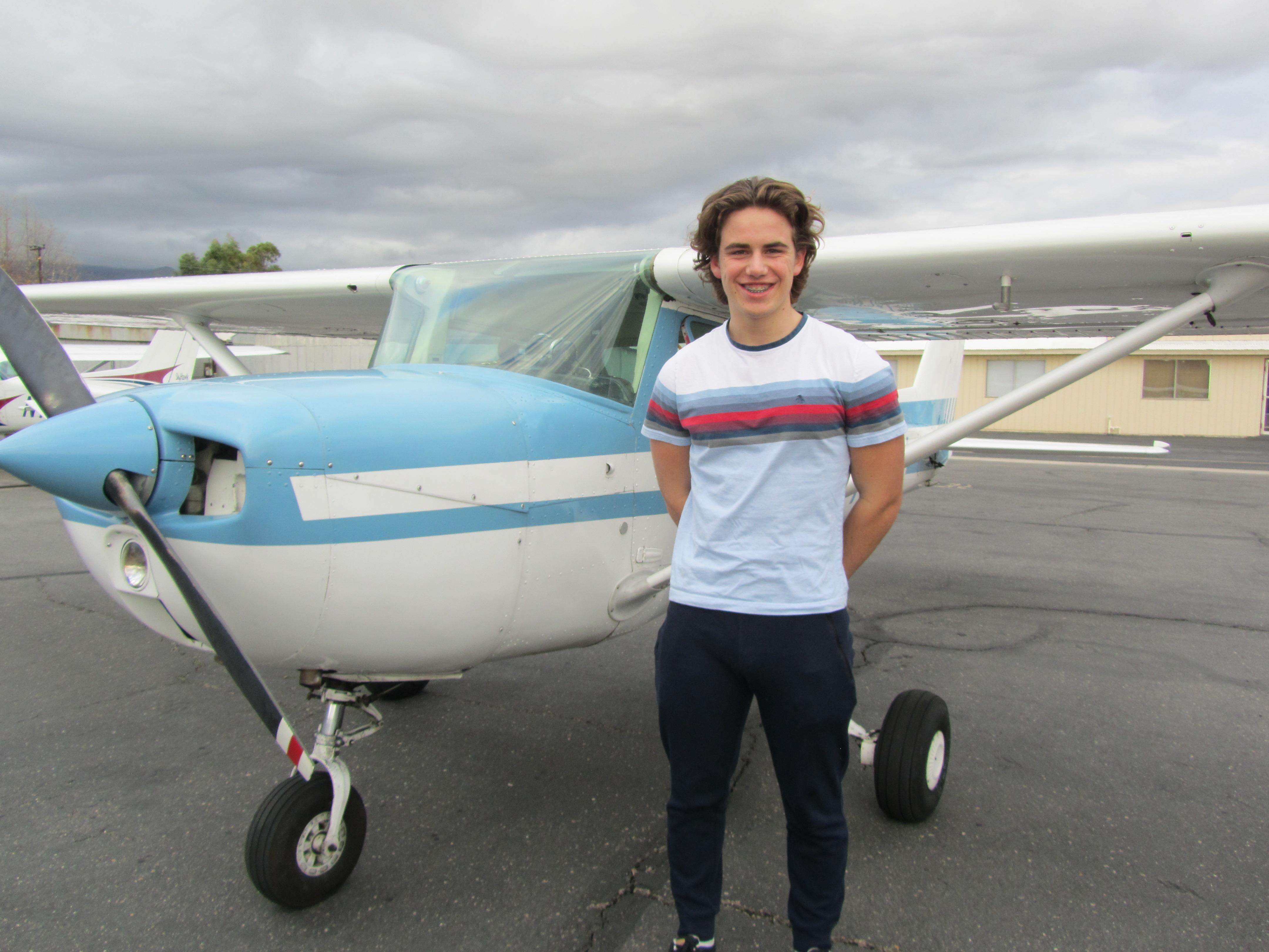 First Solo - Max Moore