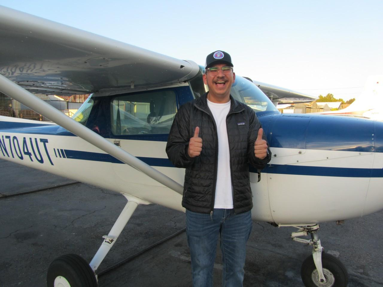 Private Pilot - Nico Gomez!
