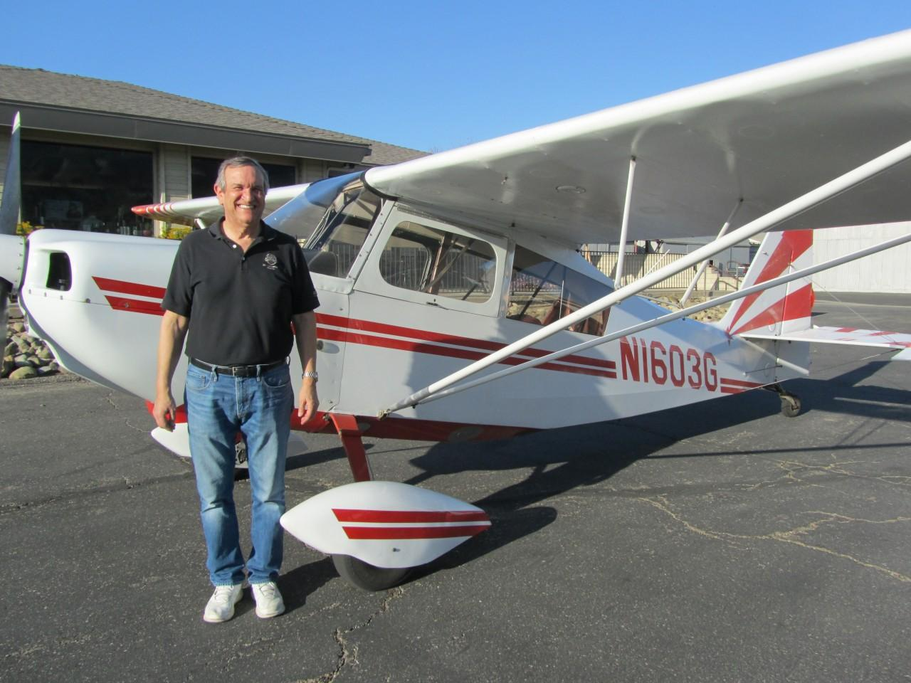 Tailwheel Endorsement - Drew McCoy!