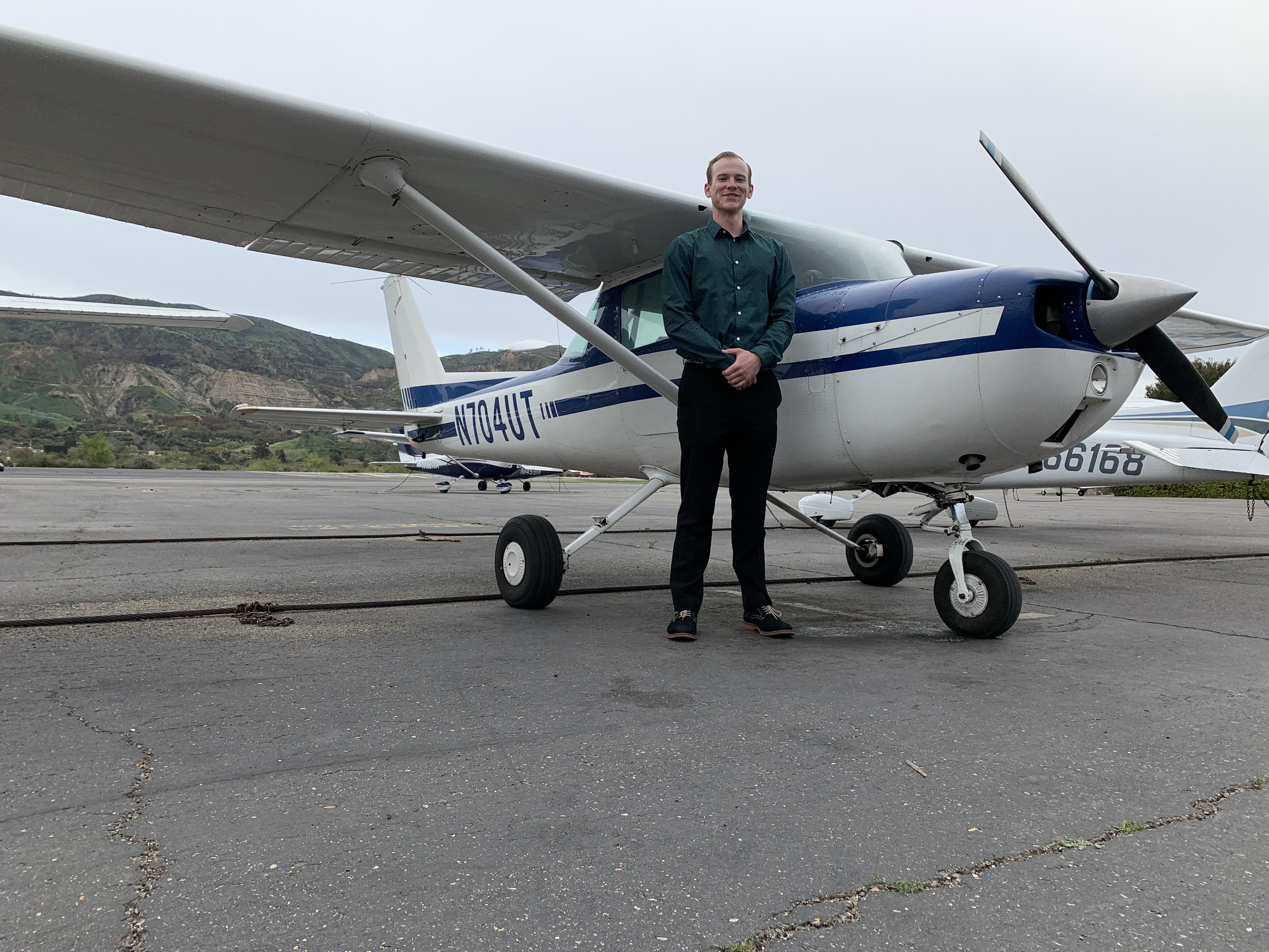 Certified Flight Instructor - Gavin Shearer