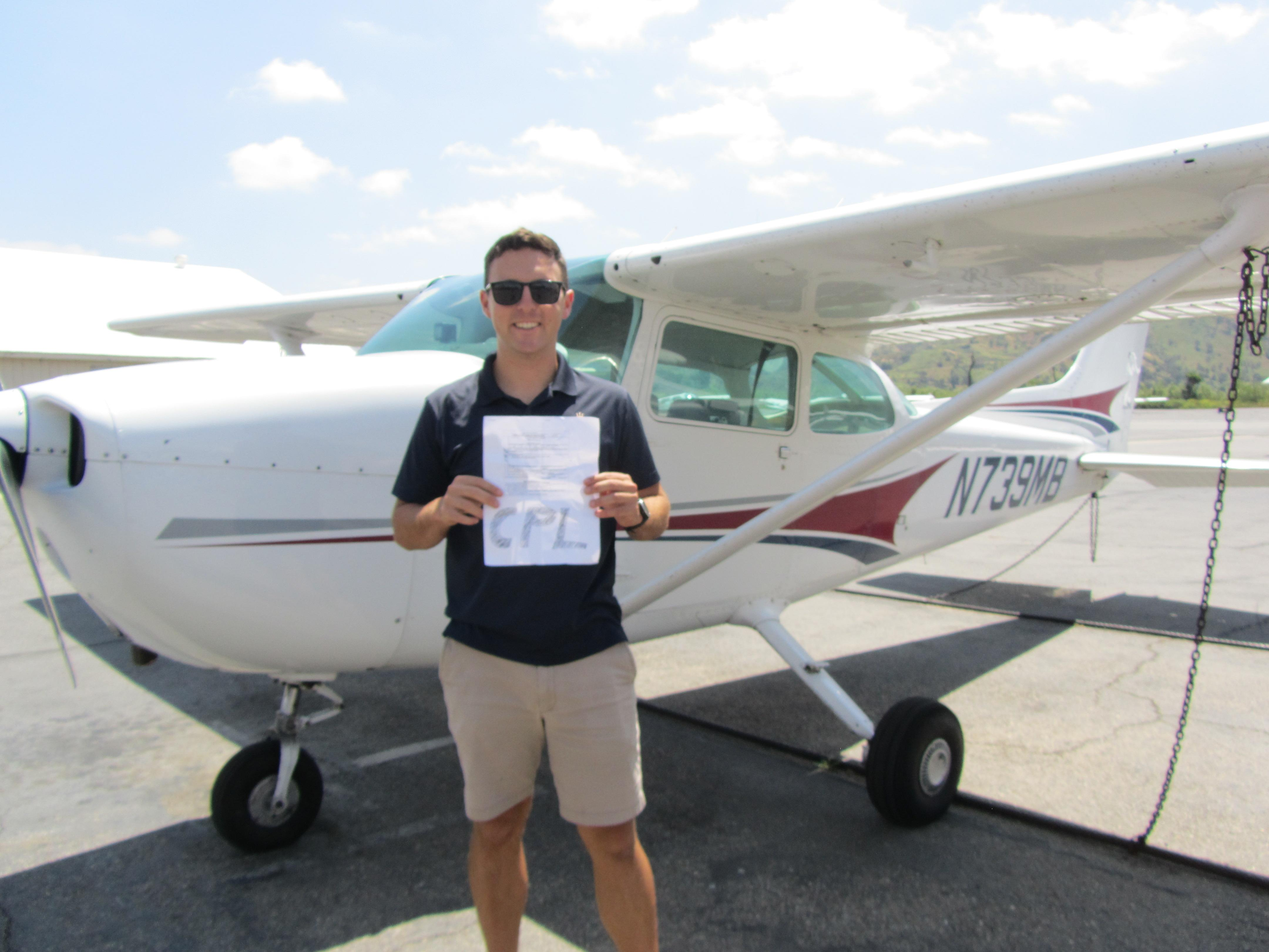 Commercial Pilot - Chase Standage!