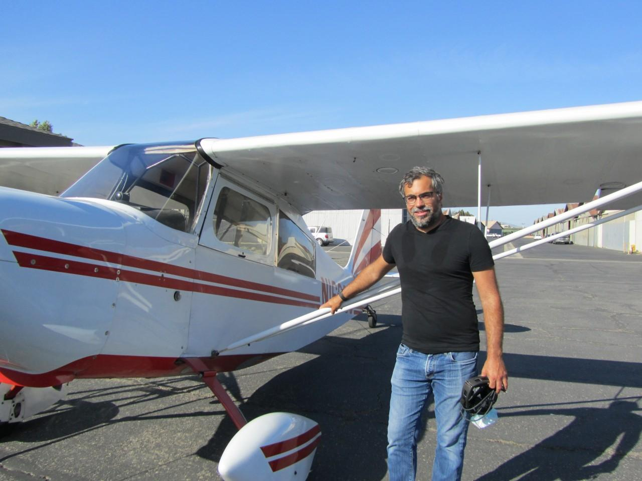 Tailwheel Endorsement - Chris Lazzaro