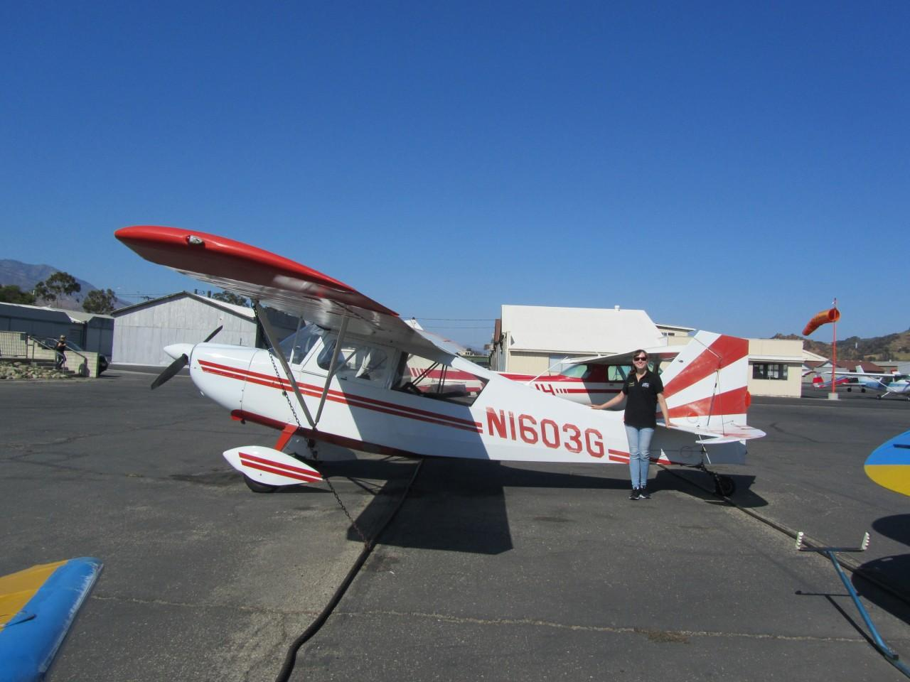 Tailwheel Endorsement - Emmalea McNay