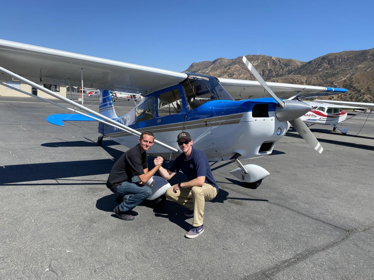 Tailwheel Endorsement - Gavin Shearer